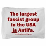Antifa is Fascist! Duh! Pillow Sham
