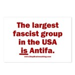 Antifa is Fascist! Duh! Postcards (Package of 8)