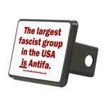 Antifa is Fascist! Duh! Rectangular Hitch Cover