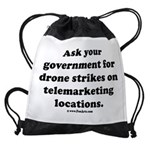 Target Telemarketing! Drawstring Bag