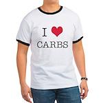 I Heart Carbs Ringer T