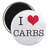 I Heart Carbs Magnet