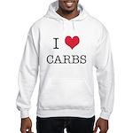 I Heart Carbs Hooded Sweatshirt