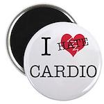 i hate cardio Magnet