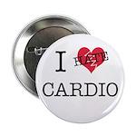 "i hate cardio 2.25"" Button"