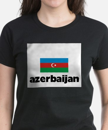 I HEART AZERBAIJAN FLAG T-Shirt