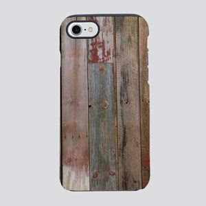 rustic western barn wood iPhone 7 Tough Case