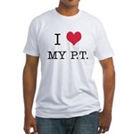 I Heart My PT Fitted T-Shirt