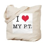 I Heart My PT Tote Bag