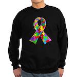 3D Puzzle Ribbon Sweatshirt (dark)