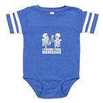 I Found This Humerus Baby Football Bodysuit
