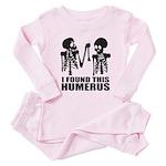 I Found This Humerus Toddler Pink Pajamas