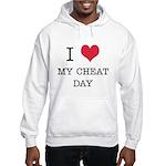 I Heart My Cheat Day Hooded Sweatshirt