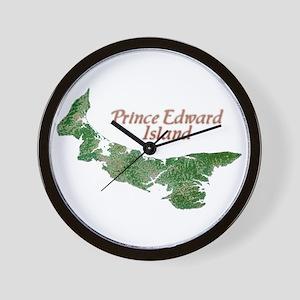 Prince Edward Island Wall Clock