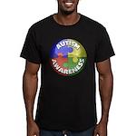 Autism Puzzle Jewel Men's Fitted T-Shirt (dark)