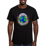 Autism Worldwide Men's Fitted T-Shirt (dark)