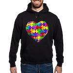 Jelly Puzzle Heart Hoodie (dark)