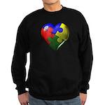 Autism Puzzle Heart Sweatshirt (dark)
