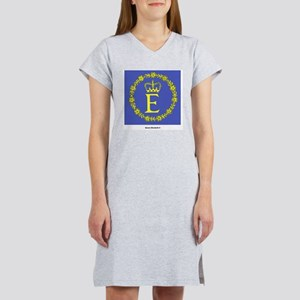 Queen Elizabeth II Flag Ash Grey T-Shirt