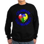 Teach Compassion Sweatshirt (dark)