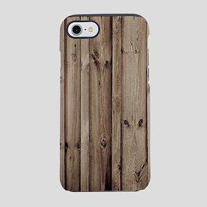 rustic farmhouse barn wood iPhone 7 Tough Case