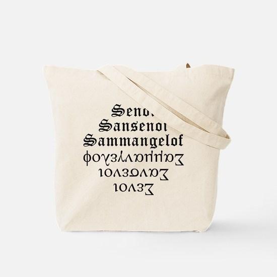 Unique Isiah Tote Bag