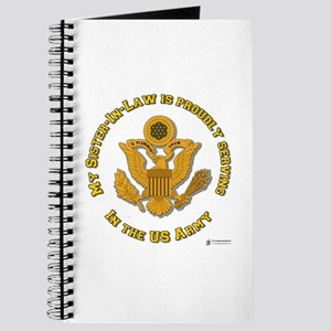 Army Sister-in-Law Gold Journal