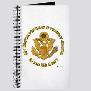 Army Brother-in-Law Gold Journal