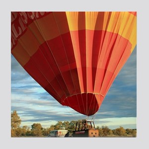 Outback hot air balloon, Australia Tile Coaster