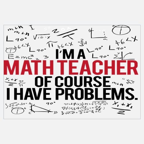Cool Math teacher Wall Art