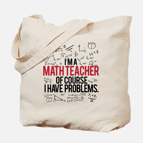 Unique Math teacher Tote Bag
