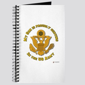 Army Son Gold Journal