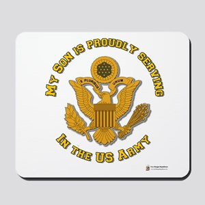 Army Son Gold Mousepad