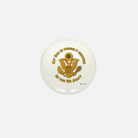 Army Son Gold Mini Button
