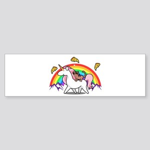 Magical Adventure | Cat Unicorn Jou Bumper Sticker