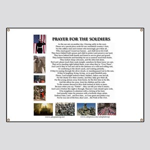Soldier's Prayer Banner