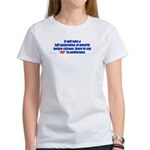 A generation of poverty 2-sided Women's T