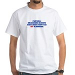 A generation of poverty 2-sided White T-Shirt