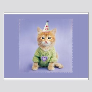 Party Cat Small Poster