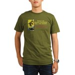 Better Dissatisfied Organic Men's T-Shirt (dark)