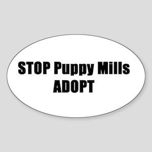 STOP Puppy Mills Sticker
