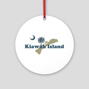 Kiawah Island SC Ornament (Round)