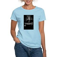 Sir Winston Churchill Women's Pink T-Shirt