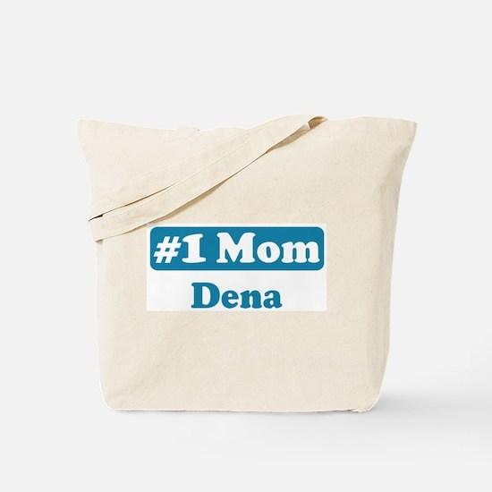 #1 Mom Dena Tote Bag