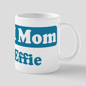 #1 Mom Effie Mug