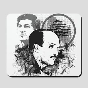 Geagea and Gemayel Mousepad