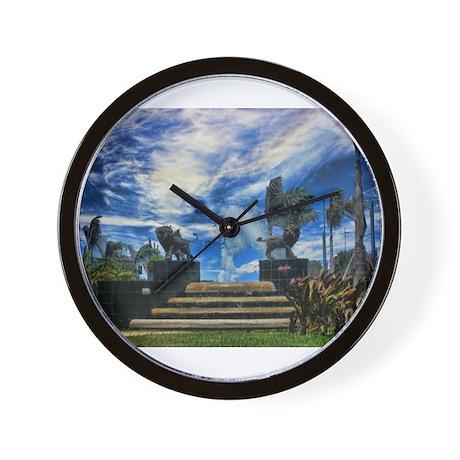 Leones De Ponce Wall Clock
