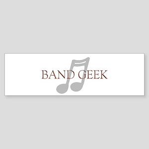 Band Geek Bumper Sticker