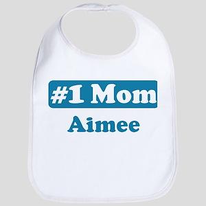 #1 Mom Aimee Bib