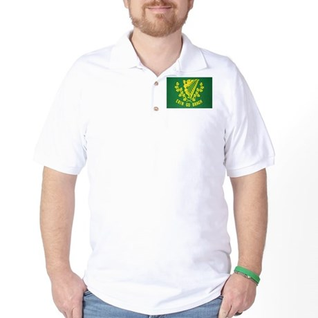 Ireland Green Flag Golf Shirt